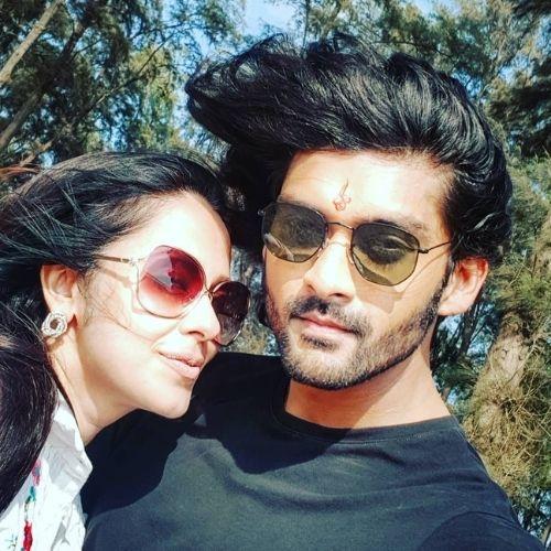 Aditya Redij with Natasha Sharma