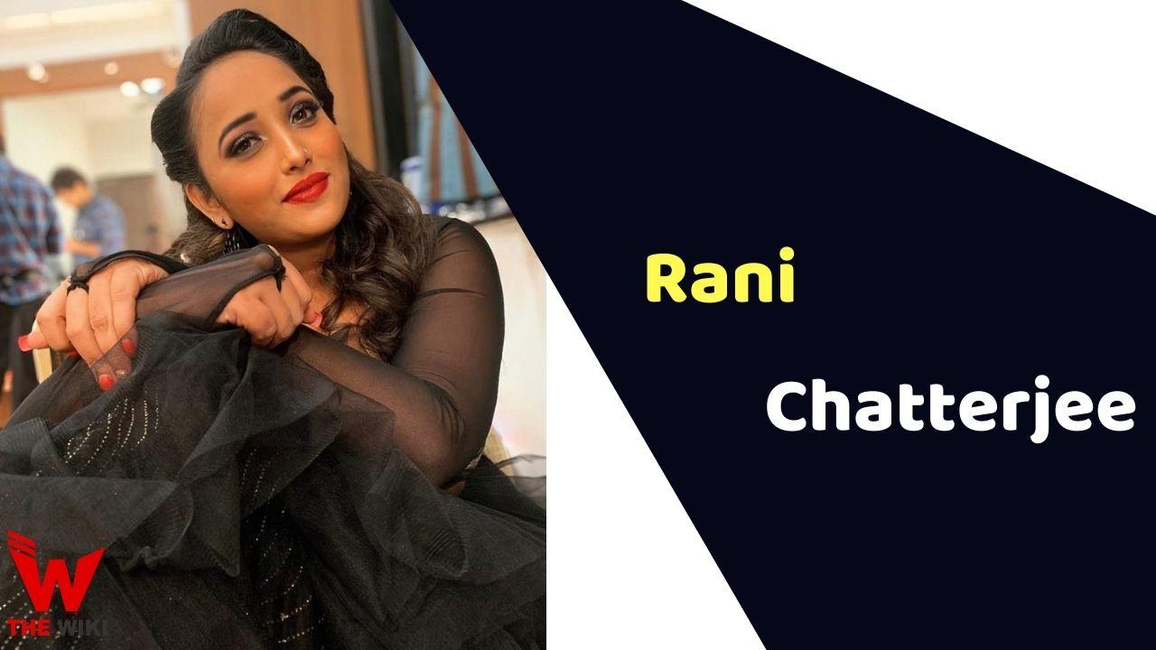 Rani Chatterjee (Actress)