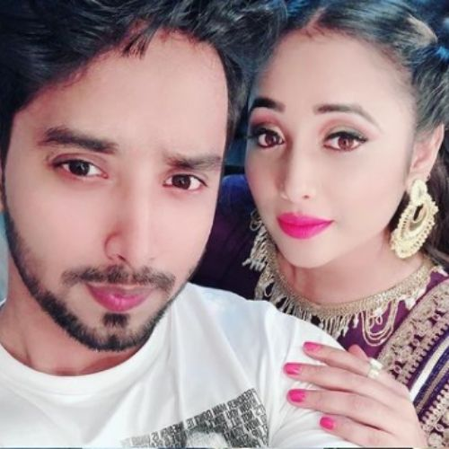 Rani Chatterjee with Brother