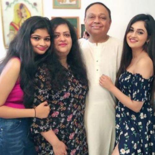 Vaishnavi Rao with Family