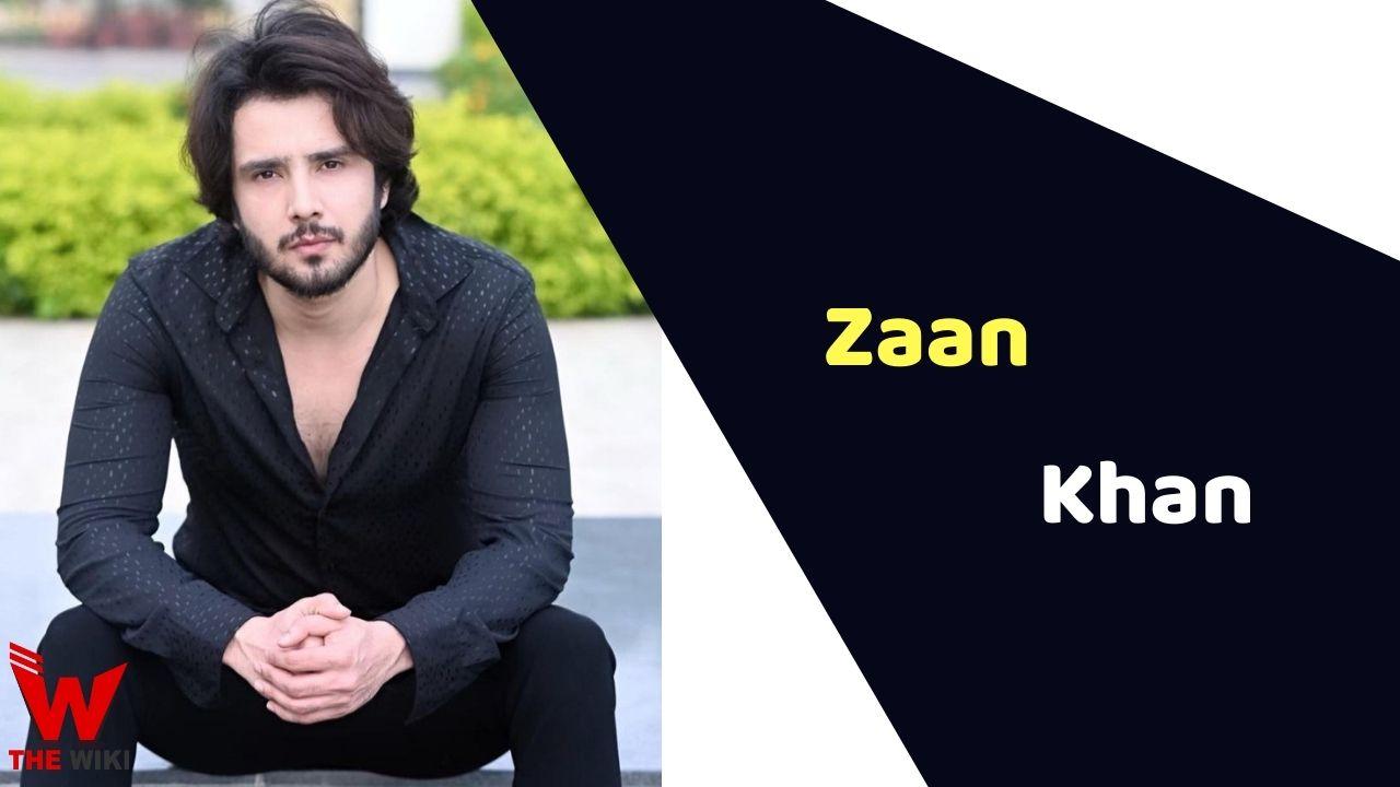 Zaan Khan (Actor)