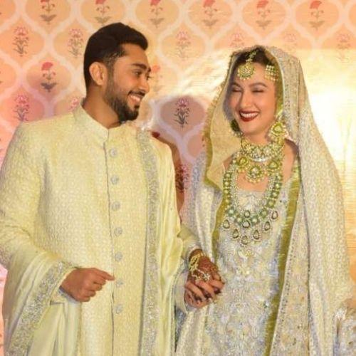 Zaid Darbar and Gauhar Khan Marriage Photo