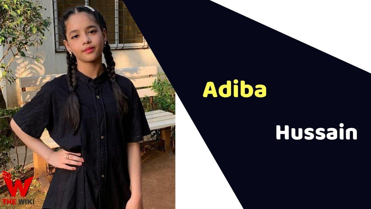 Adiba Hussain (Child Actor)