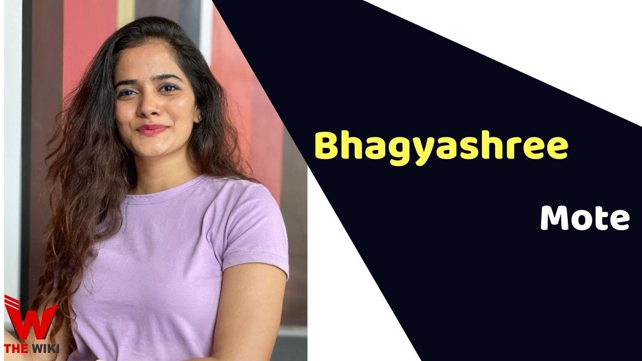 Bhagyashree Mote (Actress)