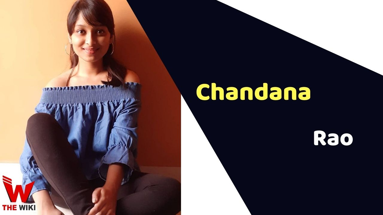 Chandana M Rao (Actress)