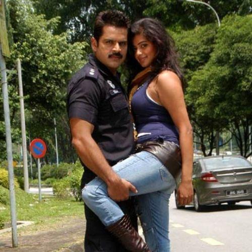 Priya Mani with Jagapthi Babu