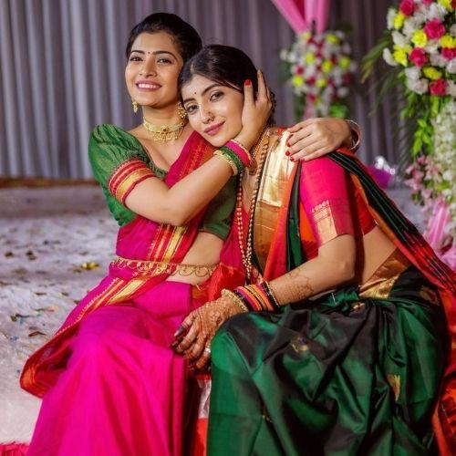 Ruchira Jadhav and Rutuja Jadhav