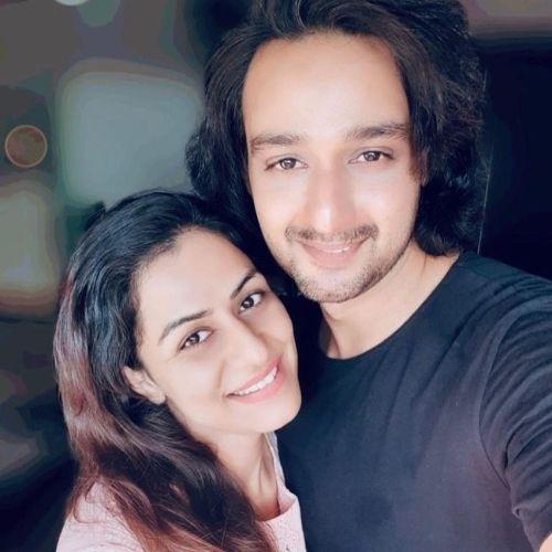 Saurabh Raj Jain with Wife
