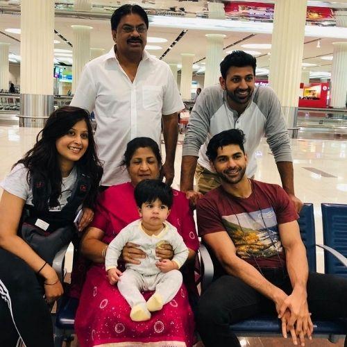 Taaha Shah Family