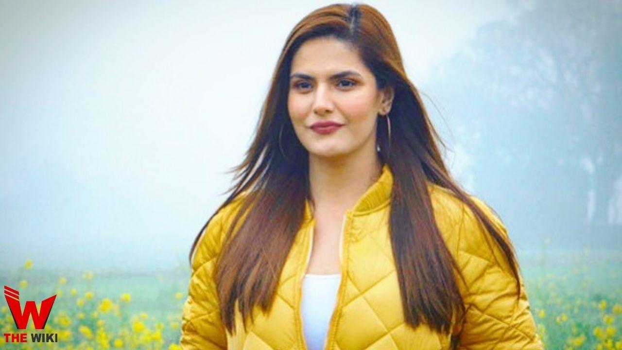 Zareen Khan (Actress)