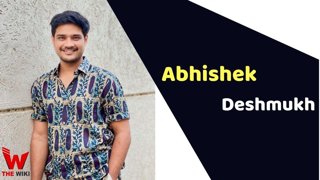 Abhishek Deshmukh (Actor)