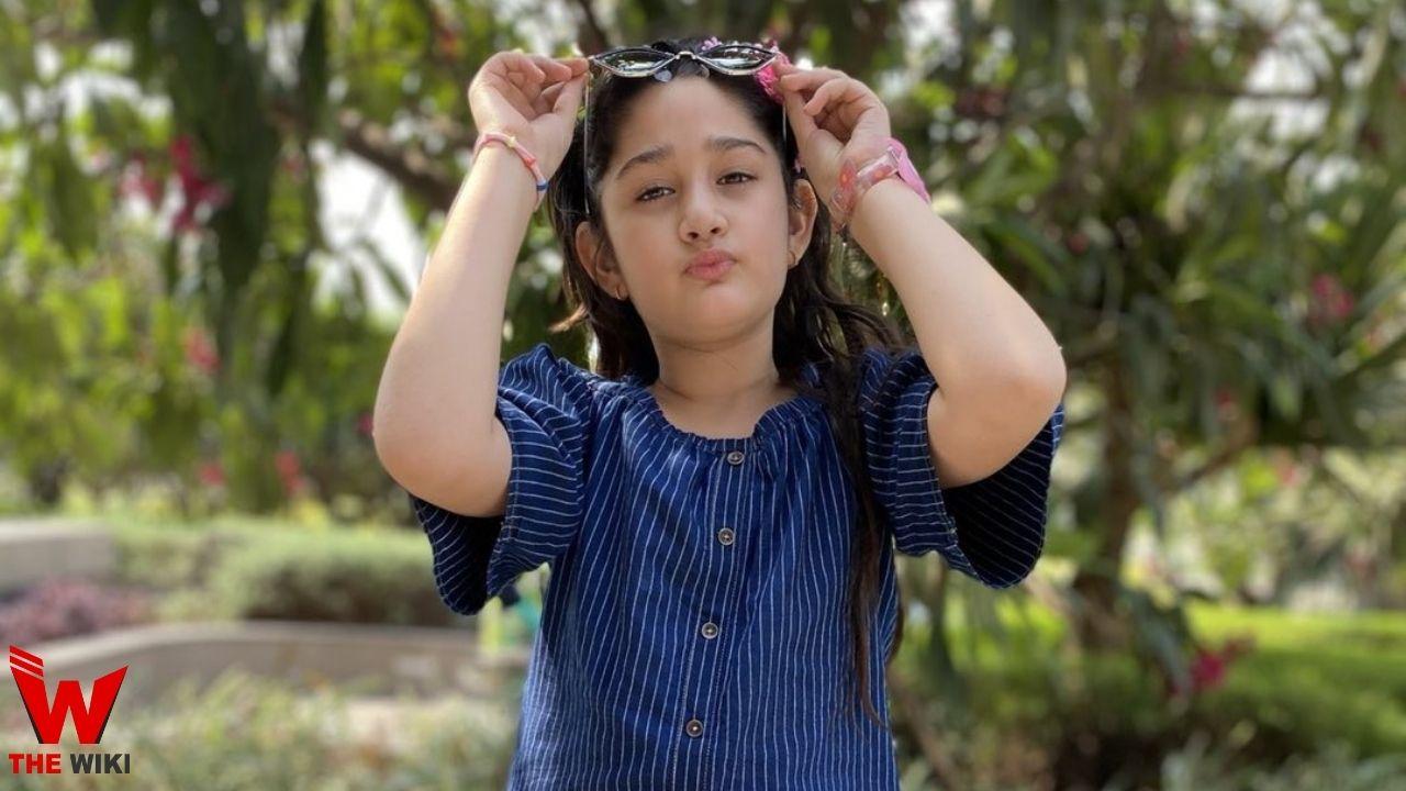 Maisha Dixit (Child Actor)