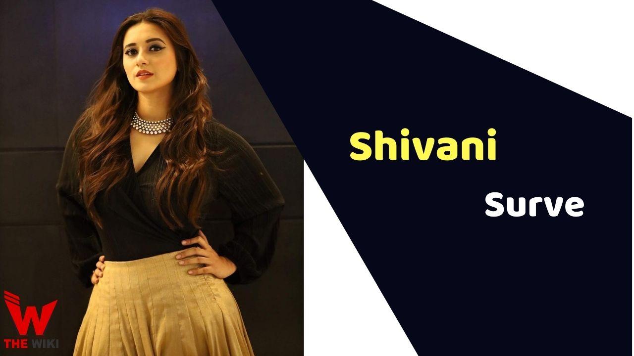Shivani Surve (Actress)