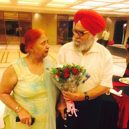 Sweety Walia's Father and Mother