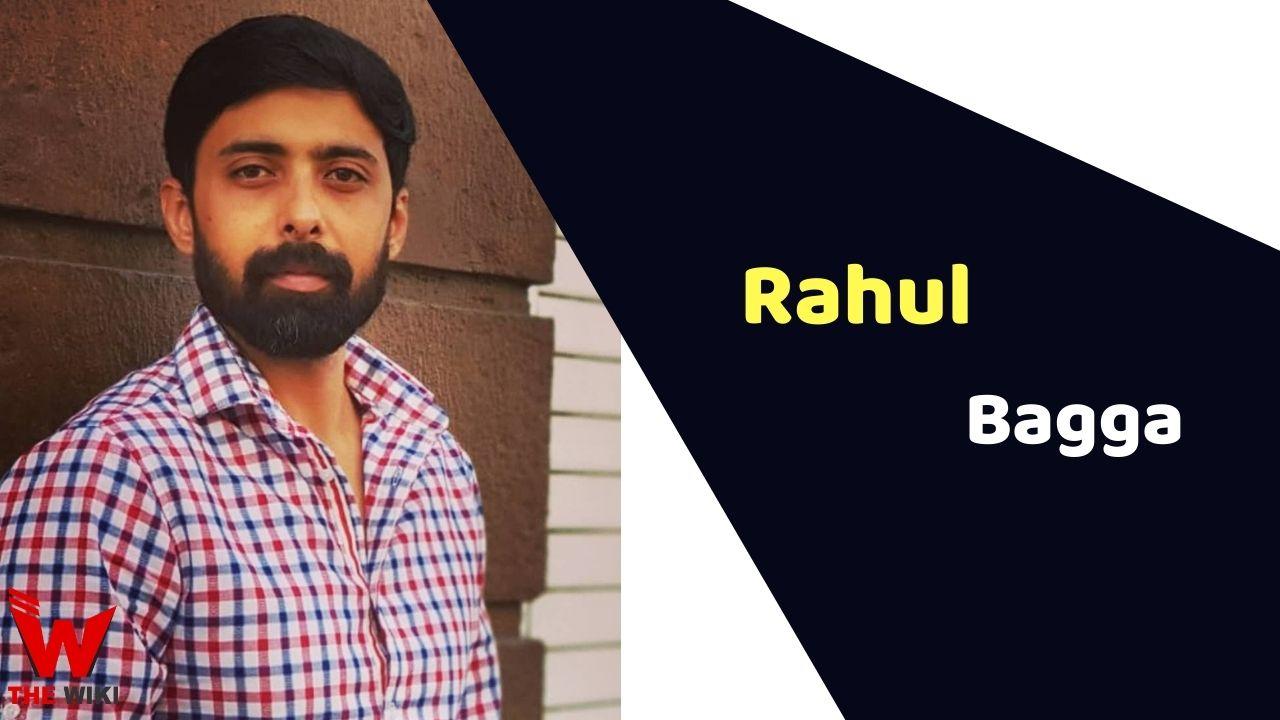 Rahul Bagga (Actor)